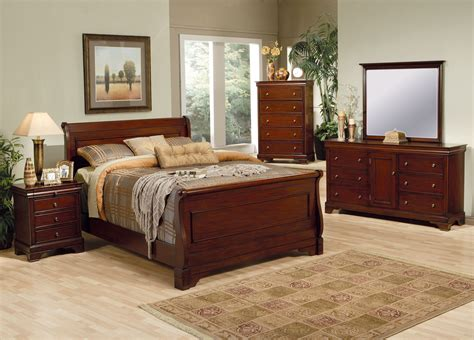Coaster Furniture Versailles Collection Mahogany Bedroom