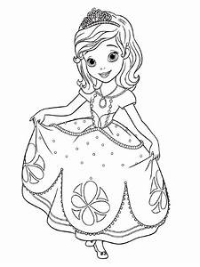 Dibujos Para Colorear Princesa Sofia Dibujos Para Dibujar