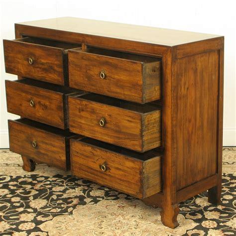 48 Inch White Dresser by Antique Repro 48 Inch Wide 6 Drawer Walnut Chest Dresser