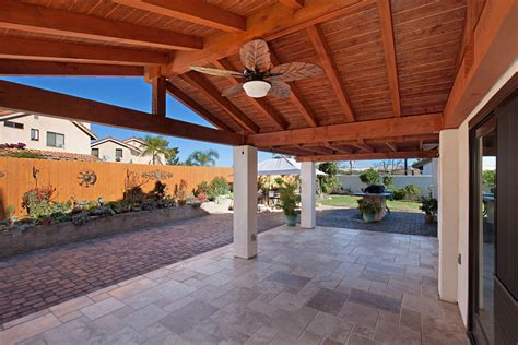 wood patio covers classic home exteriors
