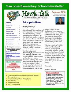 Best photos of elementary school newspaper suggestions for Primary school newsletter templates