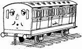 Thomas Coloring Pages Printable Train Friends Colouring Engine Tank Clip Comments Bestappsforkids Library sketch template