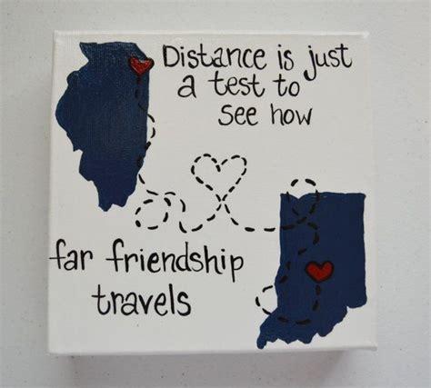 friend canvas friendship long  gretashandmadegifts