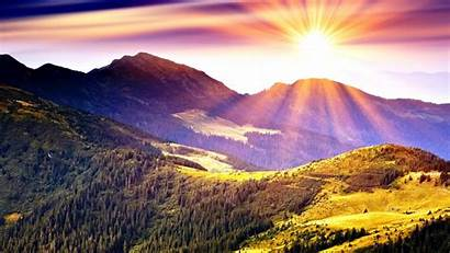 Nature Sunrise Peaceful Wallpapers