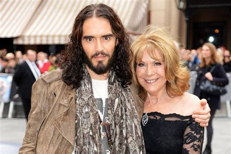 russell brand car russell brand s mother pulled from car after hit and run