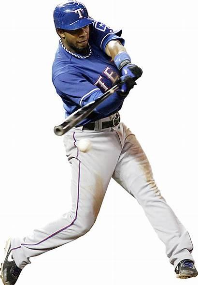 Baseball Player Elvis Transparent Andrus Rangers Sports