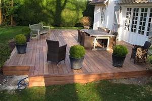 regles de construction terrasse en bois With realiser une terrasse en bois