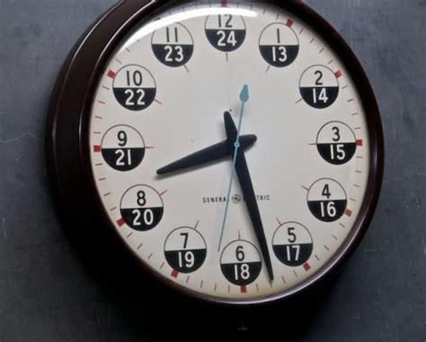 military time chart    hour clock