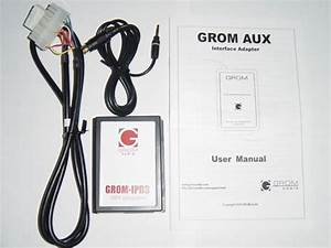 Grom Mp3 Aux Audio Input Adapter  Car