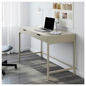Ikea Schreibtisch Glasplatte : alex schreibtisch beige ikea ~ Watch28wear.com Haus und Dekorationen