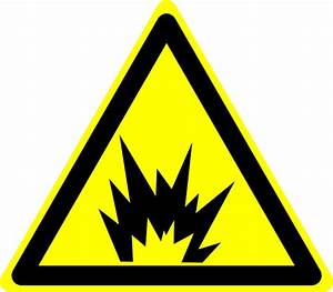 Hazard Warning Sign: Explosion Clip Art at Clker.com ...