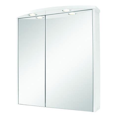 wickes illuminated double mirror bathroom cabinet white