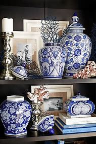 Decorating with Blue and White Chinoiserie