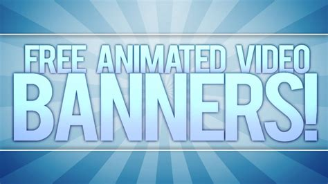 animated video banner template adobe