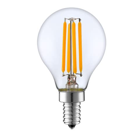 g45 led filament bulb 4 watt dimmable 25w equiv 400