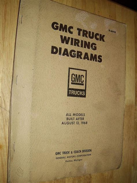 Purchase Chevrolet Gmc Truck Shop Manual Wiring