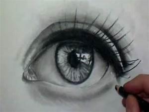 Dessin Facile Yeux : comment dessiner des yeux r alistes tutoriel 2 youtube ~ Melissatoandfro.com Idées de Décoration