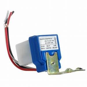 10a Auto On Off Street Light Photocell Sensor Switch Ac Dc