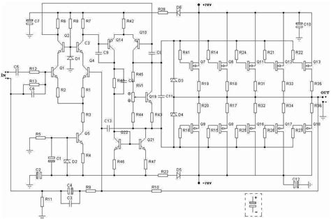 Rms Amplifier Circuit Electronics Projects Circuits