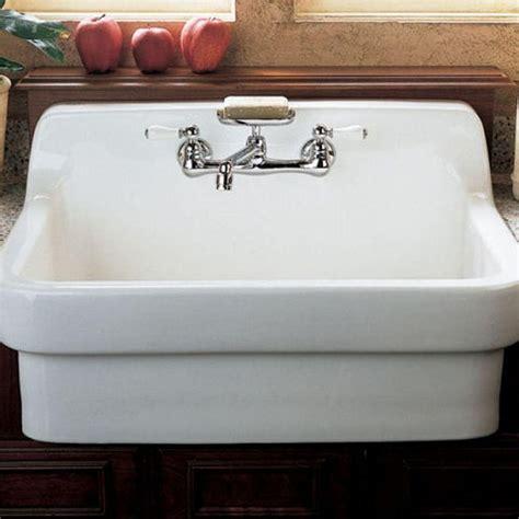 american standard heritage  handle wall mount kitchen
