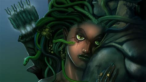 Fantasy Medusa HD Wallpaper | Background Image | 1920x1080