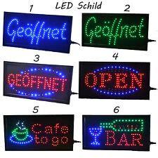 Reklame Beleuchtung Außen by Led Ge 246 Ffnet Leuchtreklame Neon Ebay