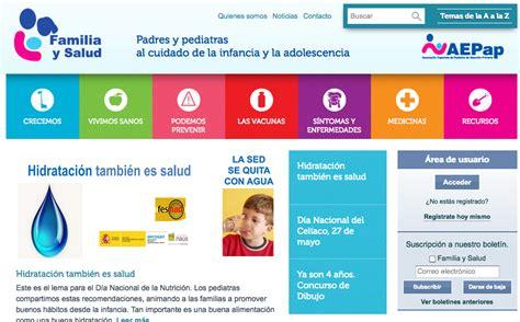 Web Familia Y Salud. Padres Y Pediatras Al Cuidado De La