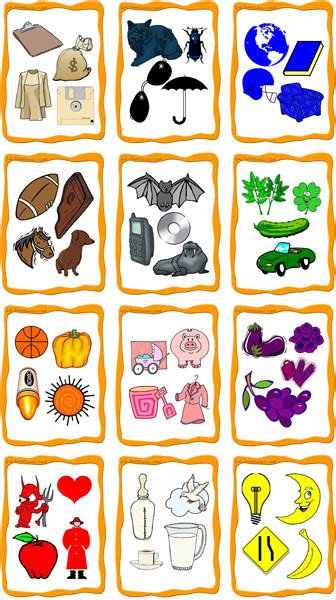 color flashcards    print esl flashcards