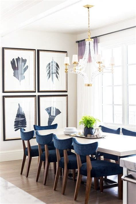 navy blue kitchen table set 25 best ideas about upholstered dining chairs on