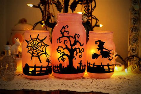 halloween mason jars pictures   images