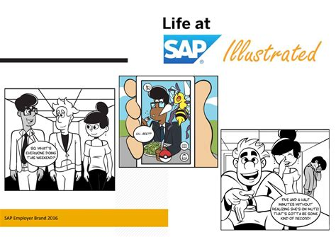 life  sap illustrated cartoon collection