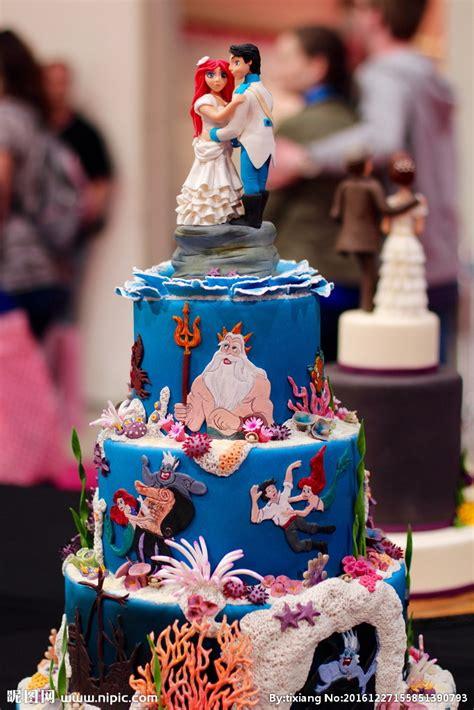 wedding cake 婚礼翻糖蛋糕图片摄影图 西餐美食 餐饮美食 摄影图库 昵图网nipic com