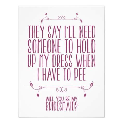 be my bridesmaid will you be my bridesmaid ideas secret wedding