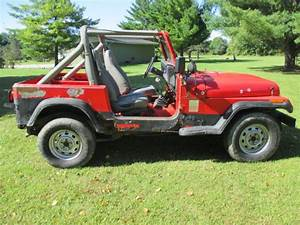 1991 Jeep Wrangler Yj 2 5 4 Cylinder Manual Trans 89 90 92