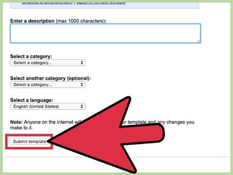 create  template  google docs  steps