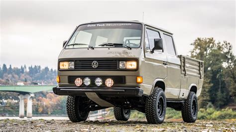 1989 Volkswagen Transporter With An Ecotec Inline-four