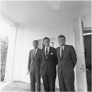 File:President Kennedy and his brothers. Attorney General ...