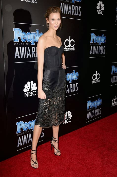 Karlie Kloss Strapless Look The People
