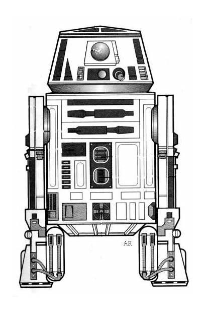 Droid Wars Astromech Star R6 Series Droids
