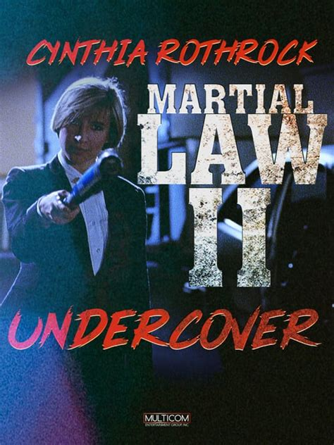 martial law ii undercover