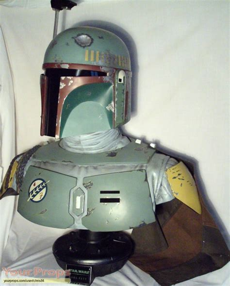 Star Wars: The Empire Strikes Back bust 1/1 boba fett by ...
