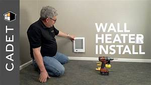 How To Install Wall Heater With Built-in Thermostat