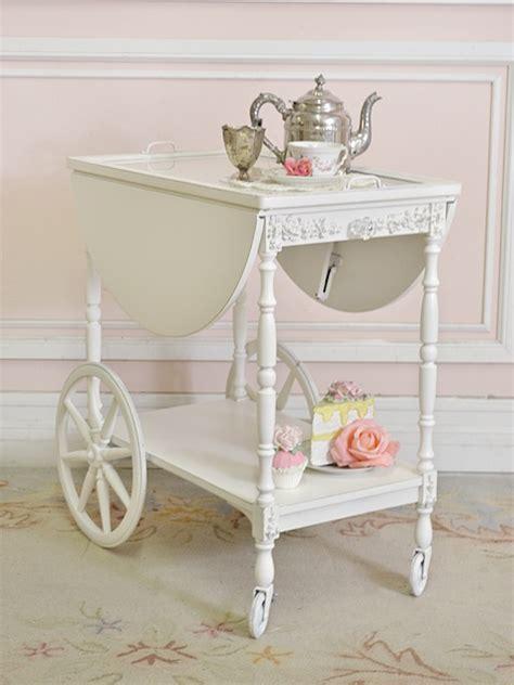 shabby chic bar cart tea cart vintage dreams pinterest