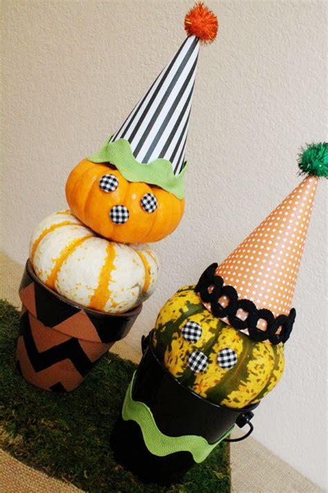 diy pumpkin witch topiaries