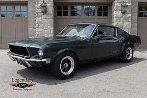 """Ford """"Bullitt"""" Mustang 1968 - USA - Klasykami.pl"""