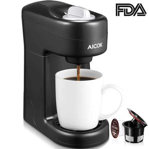 Brentwood single cup coffe maker, includes ceramic cup details. 5 Best Single Serve Coffee Makers for your Kitchen in 2019