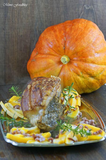 krustenbraten im backofen mit bier krustenbraten mit k 252 rbis das herbstliche soulfood mit bier pflaumen sauce mimis foodblog