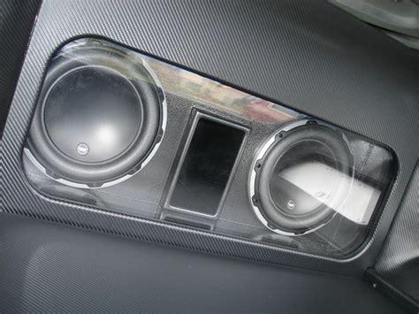 bandpass box idea car audio installs vinyls cars and the two