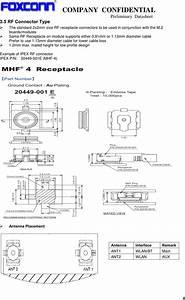 Hon Hai Precision Ind T77h566 Wifi  Bt Module User Manual 802
