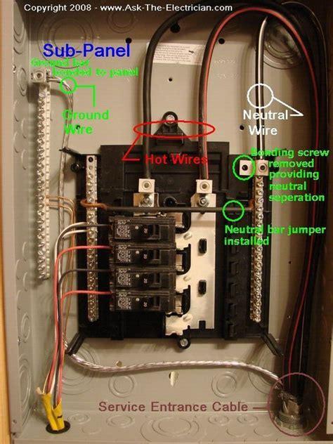 Garage Subpanel Power Pinterest Electrical Wiring